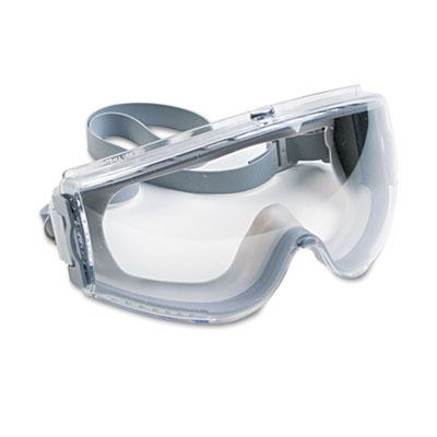 (UVXS3960C)UVX S3960C – Stealth Antifog, Antiscratch, Antistatic Goggles, Clear Lens, Gray Frame by HONEYWELL ENVIRONMENTAL (1/EA)