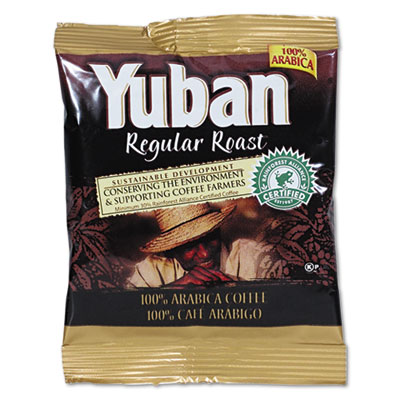 (YUB866550)YUB 866550 – Regular Roast Coffee, 1.5 oz Packs, 42/Carton by KRAFT FOODS, INC (42/CT)