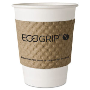 (ECOEG2000)ECO EG2000 – EcoGrip Hot Cup Sleeves – Renewable & Compostable, 1300/CT by ECO-PRODUCTS,INC. (/)