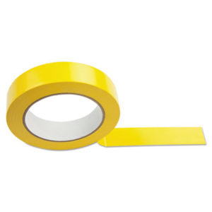 "(CSI1X36FTYL)CSI 1X36FTYL – Floor Tape, 1"" x 36 yds, Yellow by CHAMPION SPORT (1/EA)"