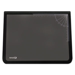 (AOP41200S)AOP 41200S – Lift-Top Pad Desktop Organizer with Clear Overlay, 31 x 20, Black by ARTISTIC LLC (1/EA)