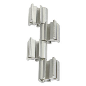 (SAF2005SL)SAF 2005SL – Rumba™ Whiteboard Screen Accessories, Ganging Connector Set, Silver by SAFCO PRODUCTS (1/EA)