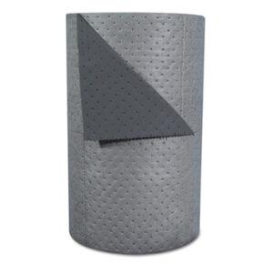"(SBDHT303)SBD HT303 – High-Traffic Series Sorbent-Pad Roll, 63gal, 30"" x 300ft, Gray, 100/Pack by BRADY WORLDWIDE INC (100/PK)"