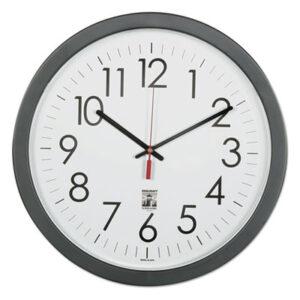 (NSN6238823)NSN 6238823 AbilityOne® SKILCRAFT® Self-Set Wall Clock ( Per )