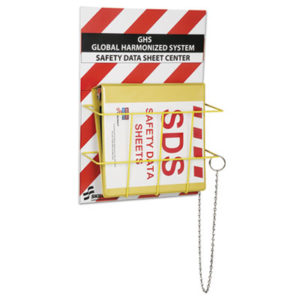 (NSN6236845)NSN 6236845 AbilityOne® SKILCRAFT® Global Harmonized System Safety Data Sheet Center Kit ( Per )