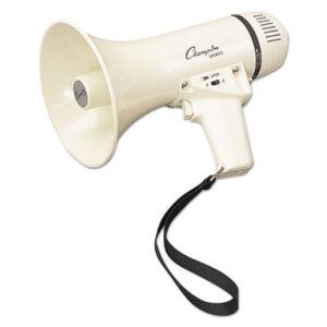 (CSIMP4W)CSI MP4W – Megaphone, 4-8W, 400 Yard Range, White by CHAMPION SPORT (1/EA)