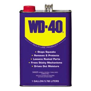(WDF490118)WDF 490118 – Heavy-Duty Lubricant, 1 Gallon Can, 4/Carton by WD-40 (4/CT)
