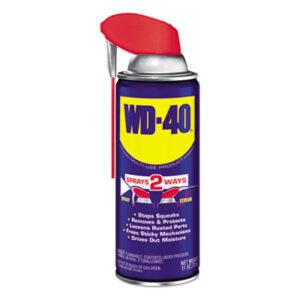(WDF490040)WDF 490040 – Smart Straw Spray Lubricant, 11 oz. Aerosol Can, 12/Carton by WD-40 (12/CT)