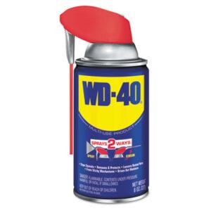 (WDF490026)WDF 490026 – Smart Straw Spray Lubricant, 8 oz Aerosol Can, 12/Carton by WD-40 (12/CT)