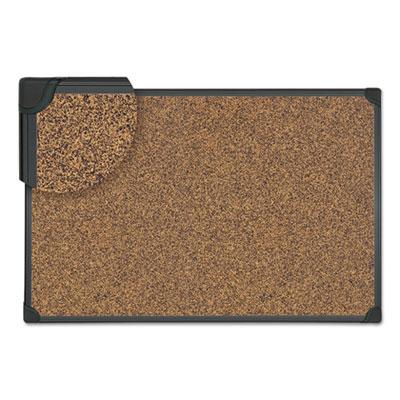 (UNV43023)UNV 43023 – Tech Cork Board, 48 x 36, Cork, Black Frame by UNIVERSAL OFFICE PRODUCTS (1/EA)