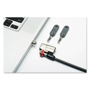 (NSN6304194)NSN 6304194 AbilityOne® SKILCRAFT® Kensington® ClickSafe® Keyed Laptop Lock ( Per )