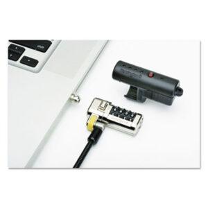 (NSN6304191)NSN 6304191 AbilityOne® SKILCRAFT® Kensington® ClickSafe® Combination Laptop Lock ( Per )