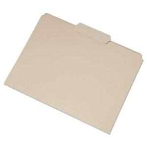 (NSN6458096)NSN 6458096 AbilityOne® SKILCRAFT® Single Tab File Folders ( Per )