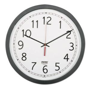 (NSN6238824)NSN 6238824 AbilityOne® SKILCRAFT® Quartz Wall Clock ( Per )