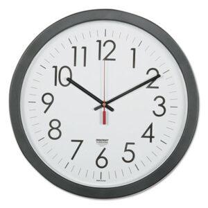(NSN6237483)NSN 6237483 AbilityOne® SKILCRAFT® Quartz Wall Clock ( Per )