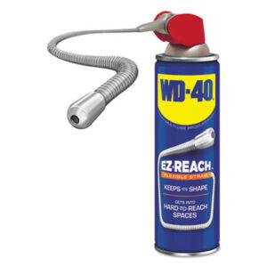 (WDF490194)WDF 490194 – Lubricant Spray, 14.4 oz Aerosol Can w/EZ Reach Straw, 6/Carton by WD-40 (6/CT)