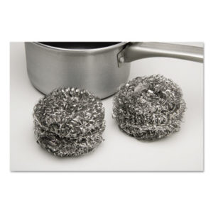 (NSN9265176)NSN 9265176 AbilityOne® SKILCRAFT® Stainless Steel Scrubber ( Per )
