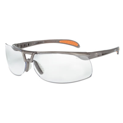 (UVXS4210EA)UVX S4210EA – Protege Safety Glasses, Ultra-dura Anti-Scratch, Sandstone Frame, Clear Lens by HONEYWELL ENVIRONMENTAL (1/EA)