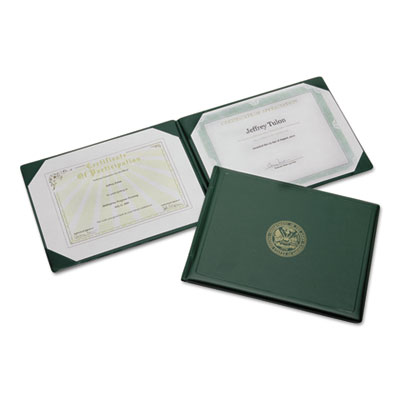 (NSN7557077)NSN 7557077 AbilityOne® SKILCRAFT® Award Certificate Holder (1 Per EA)