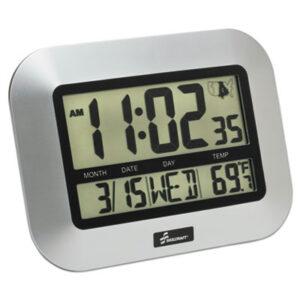 (NSN6611877)NSN 6611877 AbilityOne® SKILCRAFT® LCD Digital Radio-Controlled Clock ( Per )