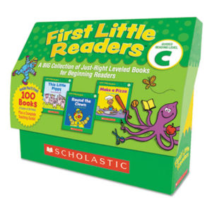 (SHS522303)SHS 522303 – First Little Readers, Reading, Grades Pre K-2, 8 Pages/Book, 20 Books, Level C by SCHOLASTIC INC. (1/EA)