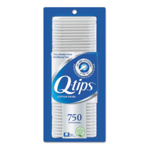 (UNI09824CT)UNI 09824CT – Cotton Swabs, 750/Pack, 12/Carton by UNILEVER (12/CT)