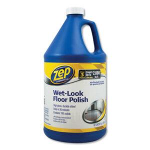 (ZPEZUWLFF128CT)ZPE ZUWLFF128CT – Wet Look Floor Polish, 1 gal, 4/Carton by ZEP INC. (4/CT)