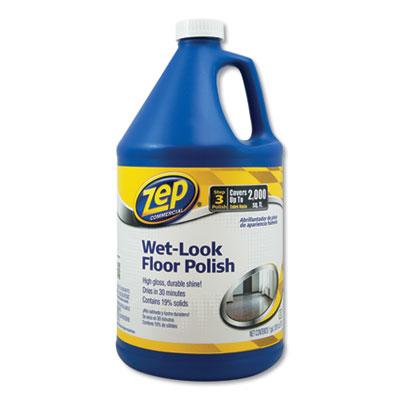 (ZPEZUWLFF128CT)ZPE ZUWLFF128CT – Wet Look Floor Polish, 1 gal, 4/Carton by ZEP INC. (/)