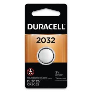 (DURDL2032BPK)DUR DL2032BPK – Lithium Coin Battery, 2032, 6/Box by DURACELL PRODUCTS COMPANY (6/BX)
