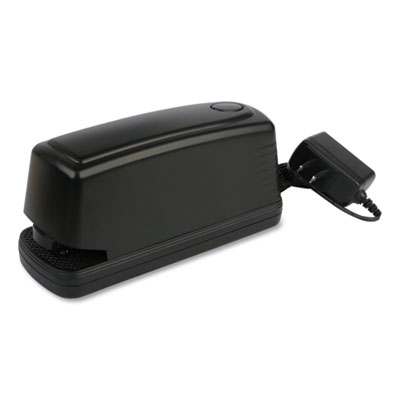 (UNV43122)UNV 43122 – Electric Stapler with Staple Channel Release Button, 30-Sheet Capacity, Black by UNIVERSAL OFFICE PRODUCTS (1/EA)