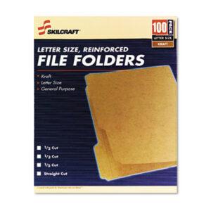 (NSN6630031)NSN 6630031 AbilityOne® SKILCRAFT® Medium File Folder ( Per )