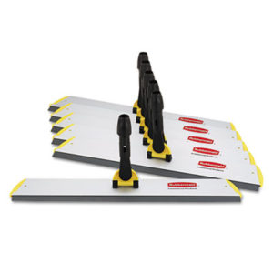 (RCPQ570)RCP Q570 – HYGEN Quick Connect S-S Frame, Squeegee, 24w x 4 1/2d, Aluminum, Yellow by RUBBERMAID COMMERCIAL PROD. (1/EA)
