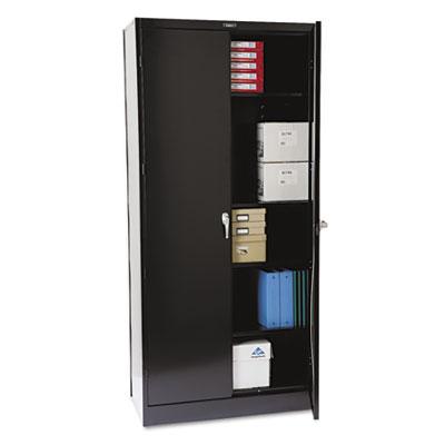 """(TNN1870BK)TNN 1870BK – 78"""" High Deluxe Cabinet, 36w x 18d x 78h, Black by TENNSCO (1/EA)"""
