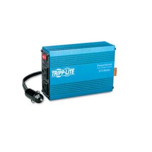 (TRPPV375)TRP PV375 – PowerVerter Ultra-Compact Car Inverter, 375W, 12V Input/120V Output, 2 Outlets by TRIPPLITE (1/EA)