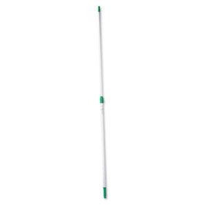 (UNGEZ250)UNG EZ250 – Opti-Loc Aluminum Extension Pole, 8ft, Two Sections, Green/Silver by UNGER (1/EA)