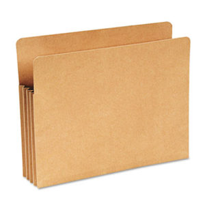 "(WLJWCC68RK)WLJ WCC68RK – Recycled File Pocket, 3.5"" Expansion, Letter Size, Kraft by WILSON JONES CO. (1/EA)"