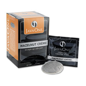 (JAV70500)JAV 70500 – Coffee Pods, Hazelnut Creme, Single Cup, 14/Box by JAVA TRADING CO. (14/BX)