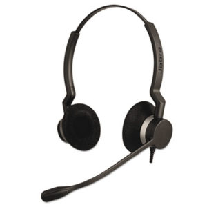 (JBR2309820105)JBR 2309820105 – QD Binaural Over-the-Head Corded Headset by GN NETCOM, INC. (/)