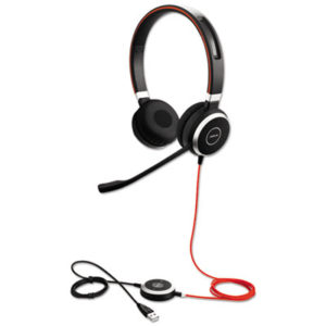 (JBR6399829209)JBR 6399829209 – EVOLVE 40 UC Binaural Over-the-Head Headset by GN NETCOM, INC. (/)