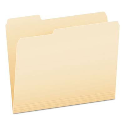 (PFX62702)PFX 62702 – Smart Shield Top Tab File Folders, 1/3-Cut Tabs, Letter Size, Manila, 100/Box by TOPS BUSINESS FORMS (100/BX)