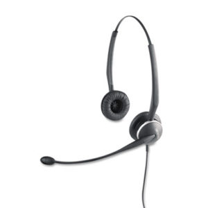 (JBR010247)JBR 010247 – GN2125 Binaural Over-the-Head Telephone Headset w/Noise Canceling Mic by GN NETCOM, INC. (/)