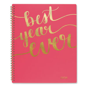(AAG102290527)AAG 102290527 – Aspire Weekly/Monthly Planner, 11 x 8 1/2, Coral, 2020 by MEAD PRODUCTS (1/EA)