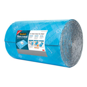"""(MMMFS1550)MMM FS1550 – Flex and Seal Shipping Roll, 15"""" x 50 ft, Blue/Gray by 3M/COMMERCIAL TAPE DIV. (1/RL)"""
