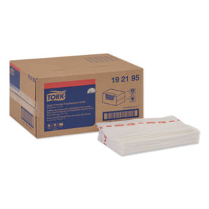 (TRK192195)TRK 192195 – Foodservice Cloth, 13 x 21, White, 150/Box by ESSITY (150/CT)