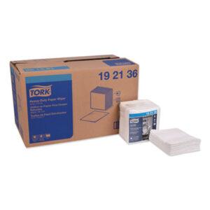 (TRK192136)TRK 192136 – Heavy-Duty Paper Wiper 1/4 Fold, 12.5 x 13, White, 56/Pack, 16 Packs/Carton by ESSITY (16/CT)