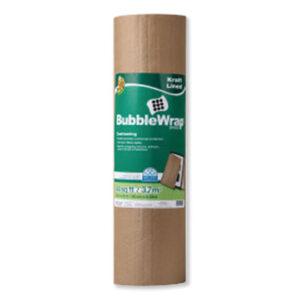 "(DUC285733)DUC 285733 – Kraft Lined Bubble Wrap Cushioning, 0.1"" Thick, 24"" x 20 ft by SHURTECH (1/EA)"