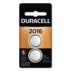 (DURDL2016B2PK)DUR DL2016B2PK – Lithium Coin Battery, 2016, 2/Pack by DURACELL PRODUCTS COMPANY (2/PK)