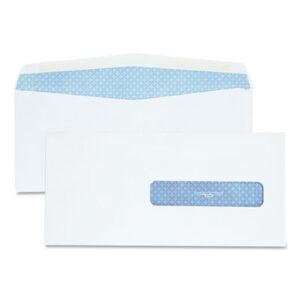 (QUA21432)QUA 21432 – Security Tinted Insurance Claim Form Envelope, Commercial Flap, Gummed Closure, 4.5 x 9.5, White, 500/Box by QUALITY PARK PRODUCTS (500/BX)