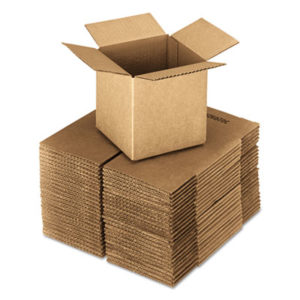 """(UFS242424)UFS 242424 – Cubed Fixed-Depth Shipping Boxes, Regular Slotted Container (RSC), 24"""" x 24"""" x 24"""", Brown Kraft, 10/Bundle by GEN (10/BD)"""