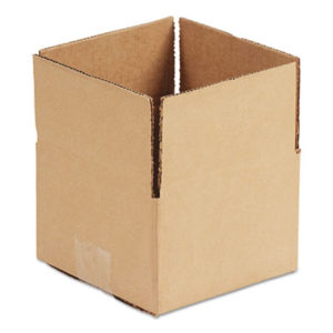 """(UFS644)UFS 644 – Fixed-Depth Shipping Boxes, Regular Slotted Container (RSC), 6"""" x 4"""" x 4"""", Brown Kraft, 25/Bundle by GEN (25/BD)"""